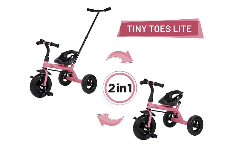 R for Rabbit Tiny Toes Lite Tricycle for Kids