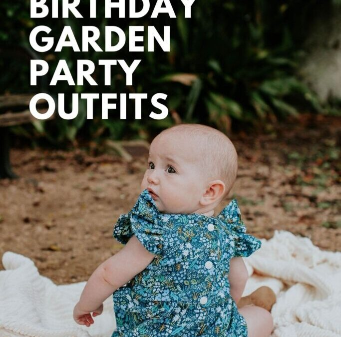 First Birthday Garden Party Outfits
