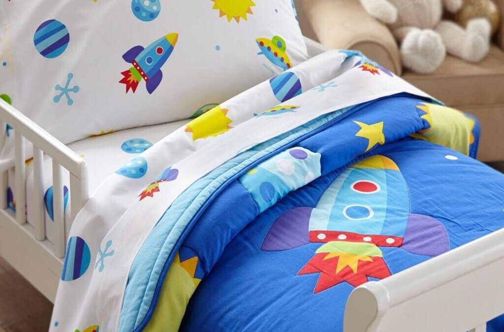 toddler bed with rocket ship sheets 1024x1024 1